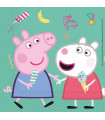 Servilletas de papel - Peppa Pig