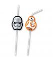 Pajitas de plástico - Star Wars
